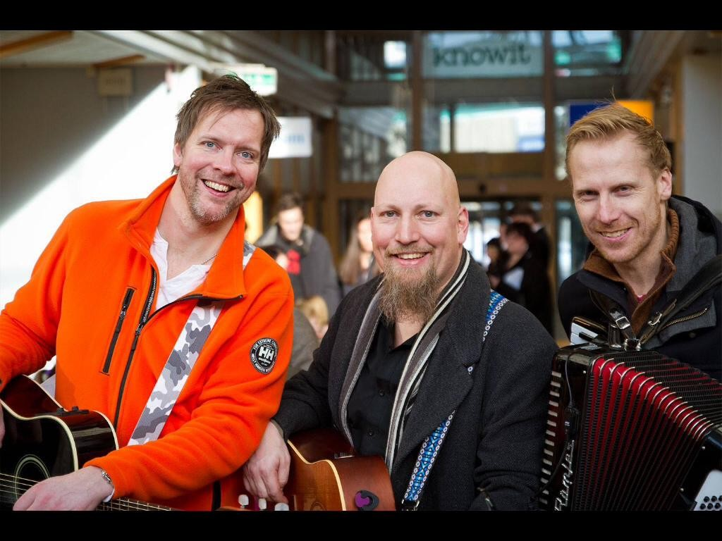 Patrik Forslund, Fredrik Forsberg, Mikael Bergström